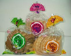 Korean Pan Cracker – Laver, Peanuts, Ginger & Kimchi