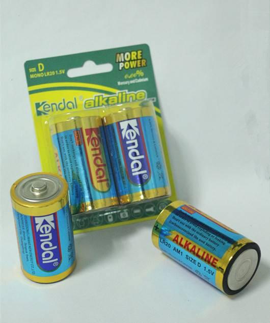LR20 D Am1 1.5V alkaline battery