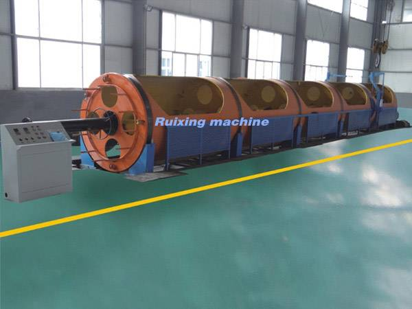 500/1+6 Tubular stranding machine for local system 7-core twisted strand, copper wire
