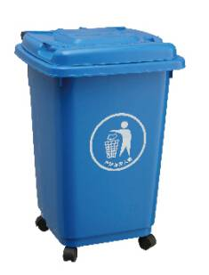 plastic  dustbin(50L)trash bin, trash can, garbage bin, garbage can, wastebin,