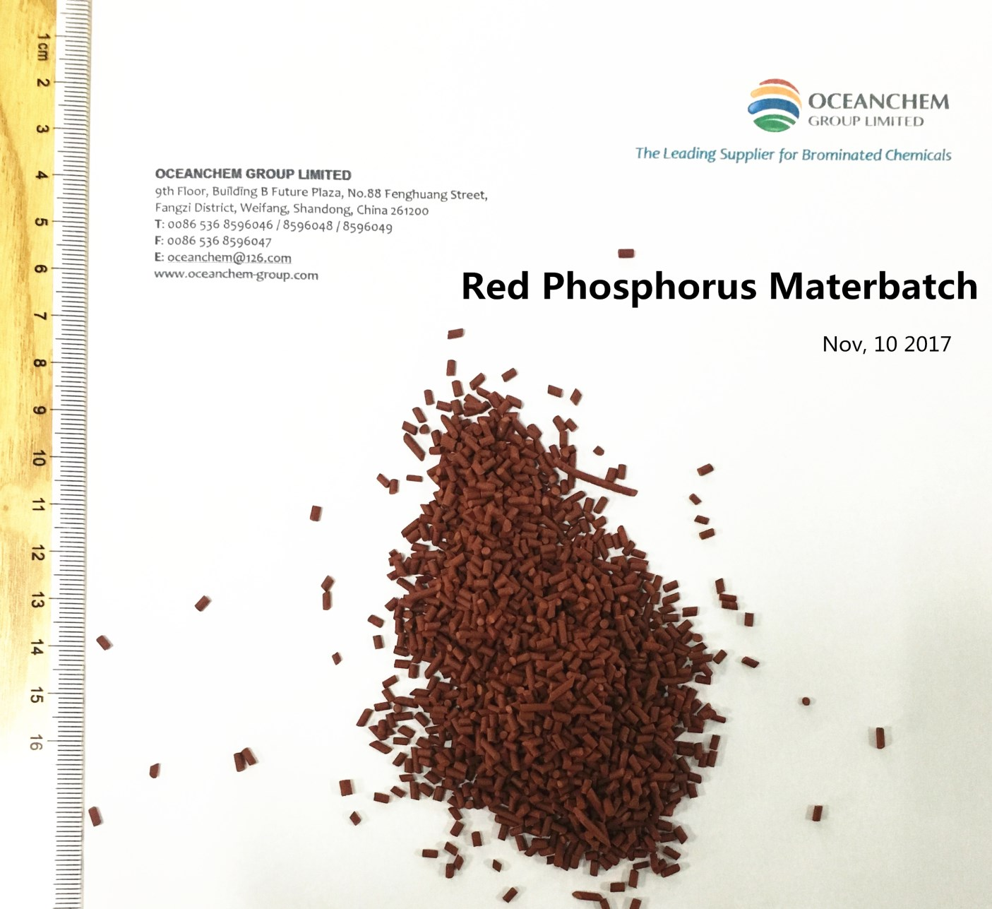 Red Phosphorus Flame Retardant Masterbatch