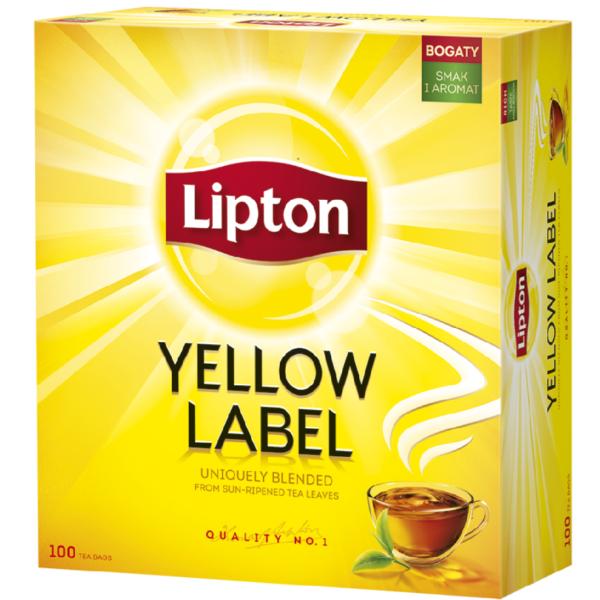 Lipton Tea Yellow label t100 Lipton 20pcs Forest fruits pyramids