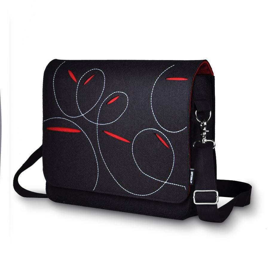Fashion Travalling Bag with Felt Material