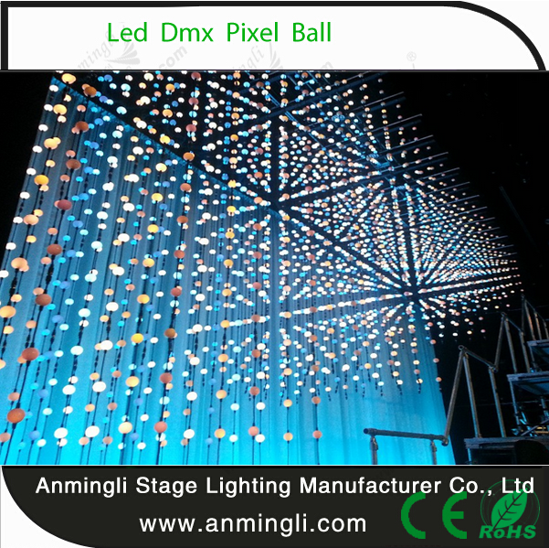 Guangzhou artnet full color 3d disco led ball