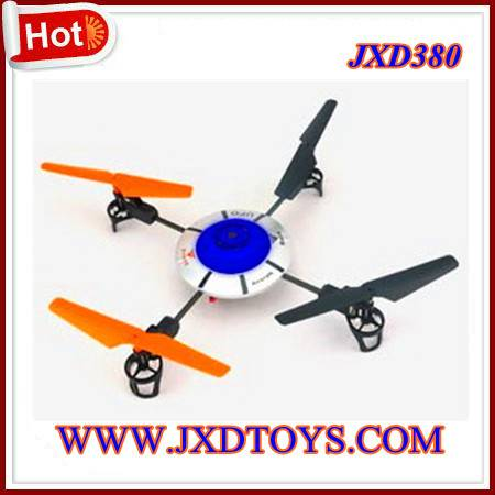 New Arrival UFO JXD380 4CH 2.4G RC UFO 4Blades 2.4G Indoor&Outdoor Fly RC Quadcopter