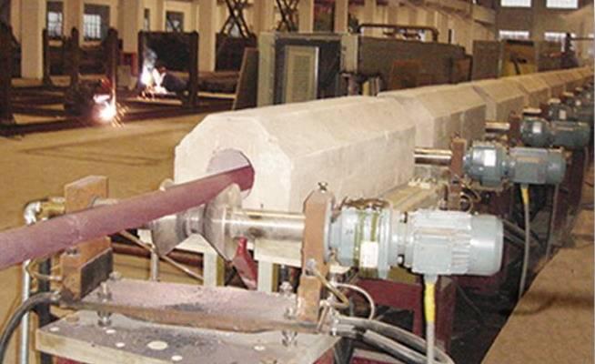 D20 ~ D 40mm, 600 ~ 700MPa steel bars heat treatment line