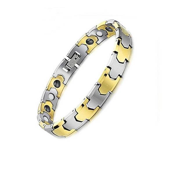 JSTONE Wholesale Men's Magnetic Health Tungsten Bracelet