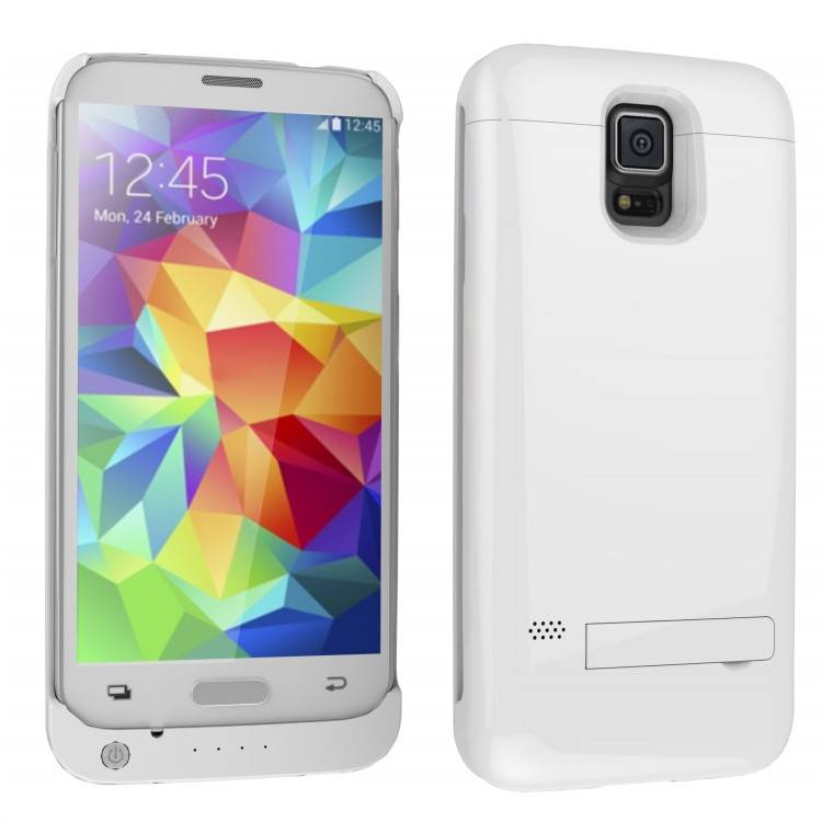 Power Case with flip cover for Samsung Galaxy S5