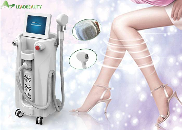 Vertical  Diode Laser Hair Removal , facial hair removal for women / man