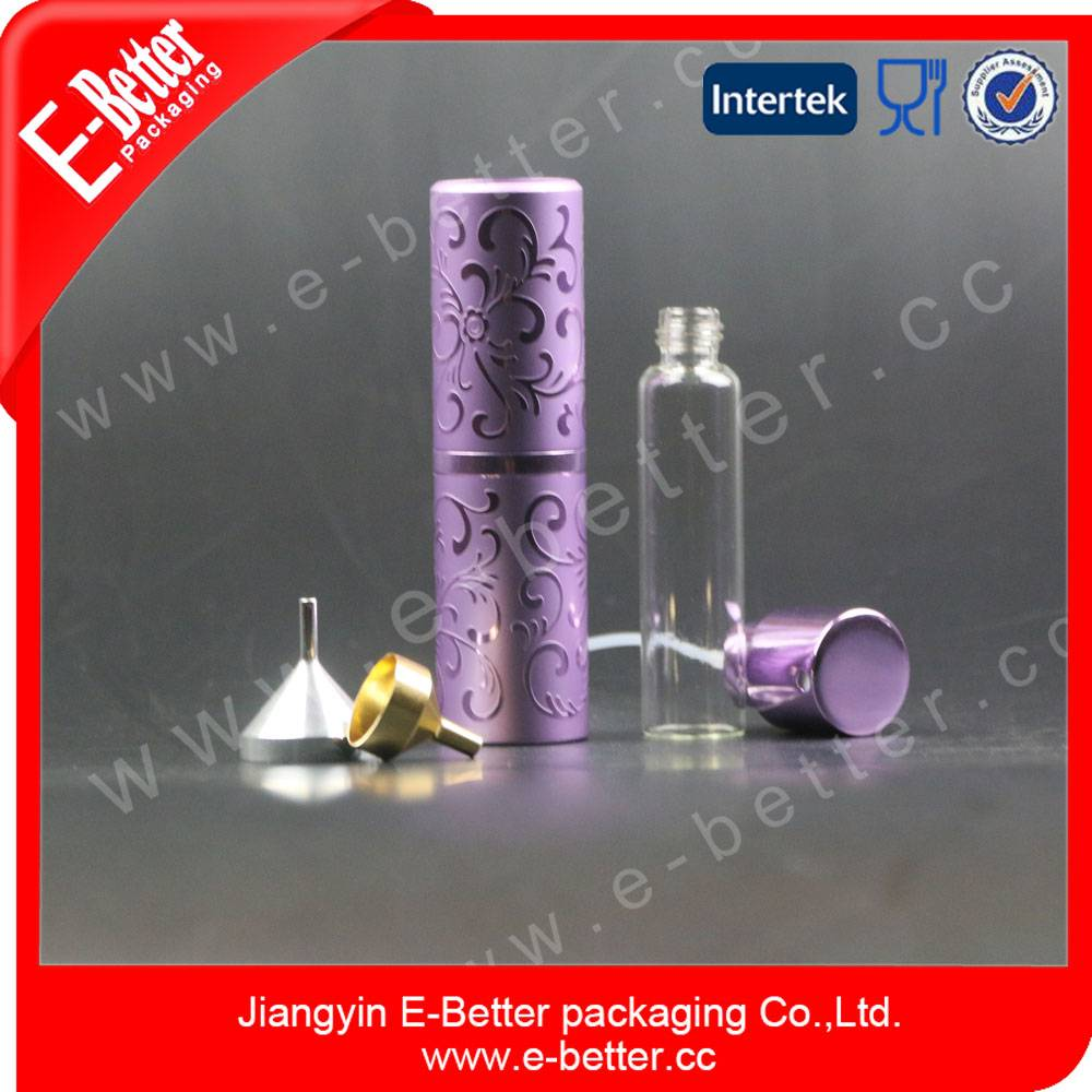 15ml aluminium perfume bottles