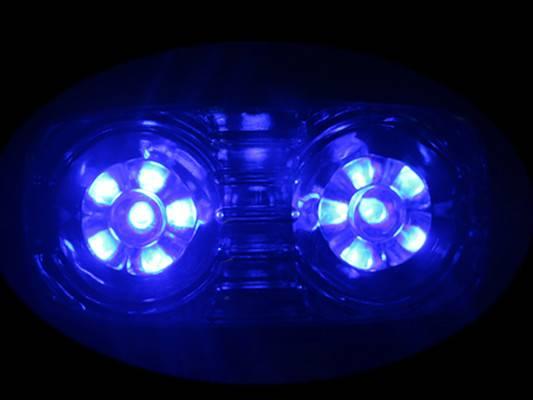 12V 24V truck trailer LED side mark lamp