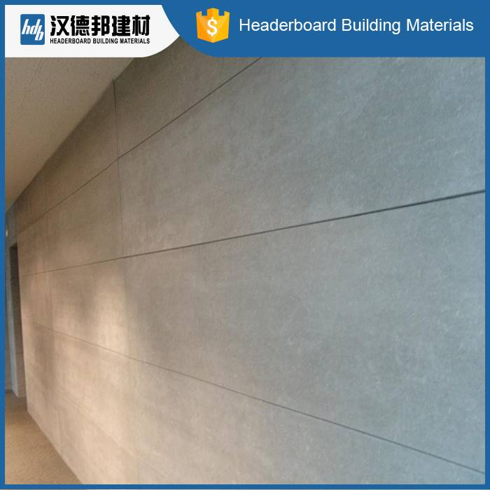 Fiber Cement interior exterior wall panels fireproof board