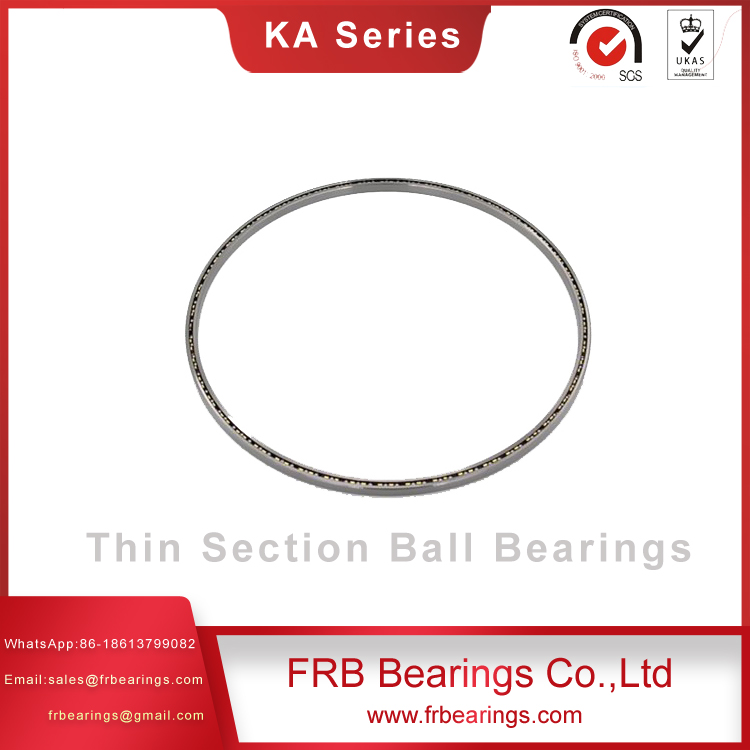 Stainless steel slim bearings-Augular contact ball bearings SA Series