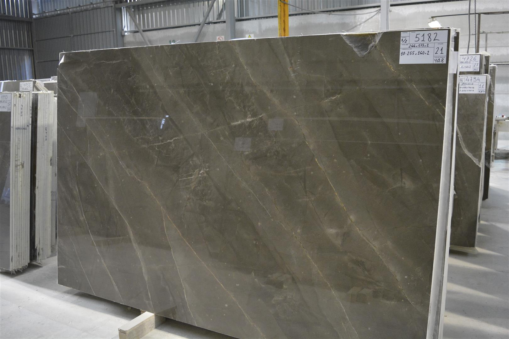 Bronze Amani Marble slabs