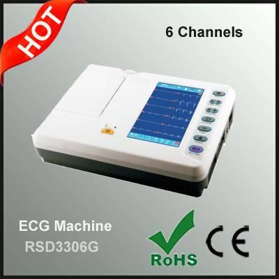 6 Channel ECG Machine Manufacturer