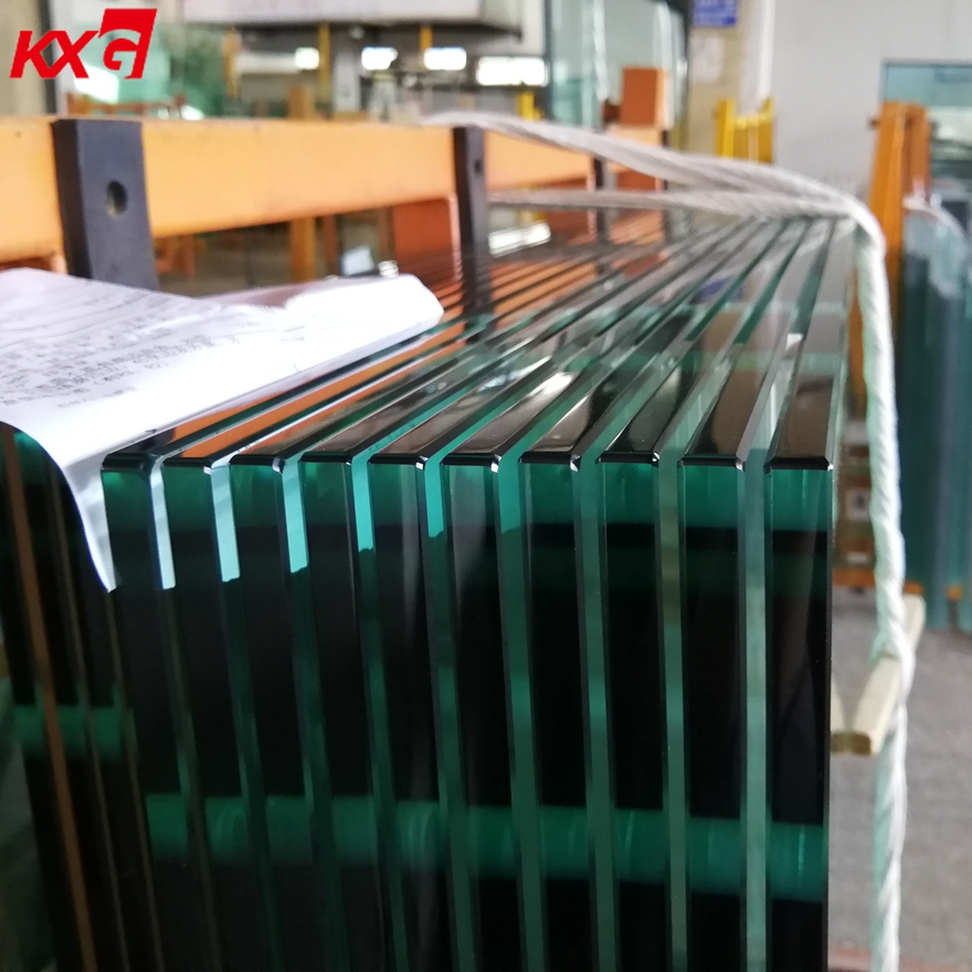 China Buildng Glass Factory supply 4-19mm Cut to Size safety Tempered Glass Price