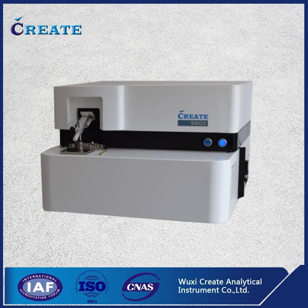 Desktop ark-spark direct reading spectrometer for metal analysis