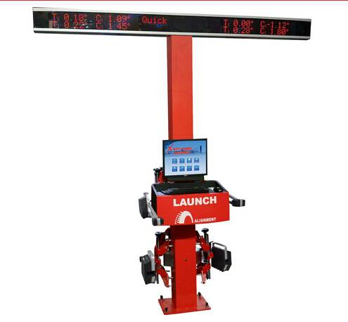 launch X-631+T Wheel Aligner