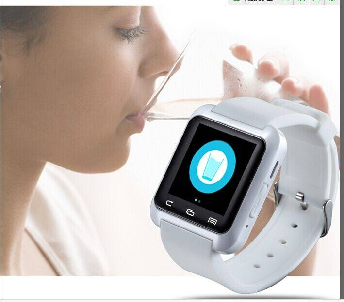 Smart Watch Mobile Phone Bluetooth U80 Pedometer Watch for Android IOS