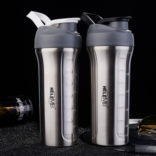 800ml stainless steel blender bottle