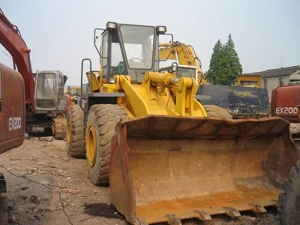 SECOND HAND KOMATSU WA380 WHEEL LOADER