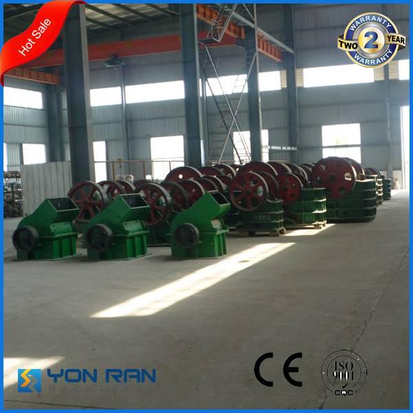 Guangzhou factory price PE280*420 small capacity limestone crushing machine jaw crusher
