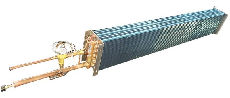 Transport refrigeration heat exchanger