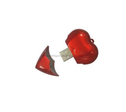 Heart USB Flash Drive(WS-A010)