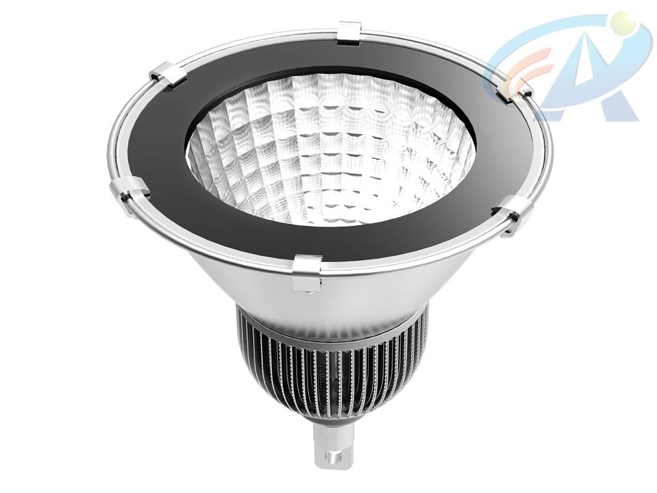 100W Fins Radiator COB Integrated Chips LED High Bay Light