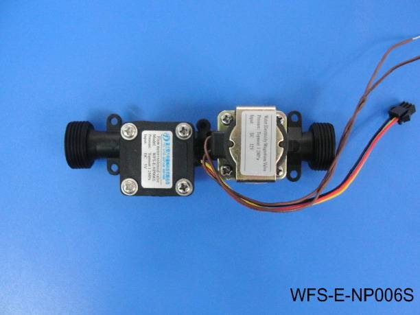 High temperature plastic integrated valve WFS-E-NP006S
