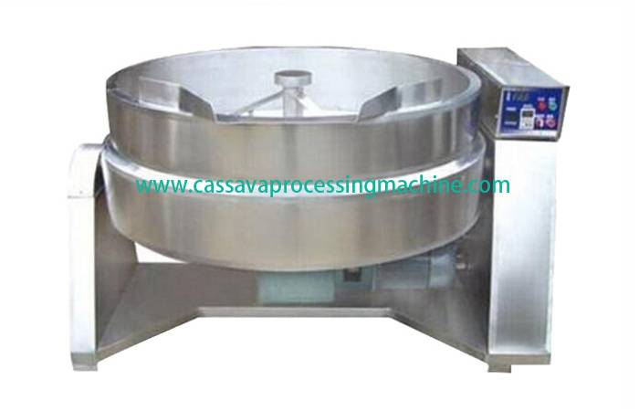 Garri fryer machine
