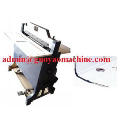 lever arch file making machine-creasing machine