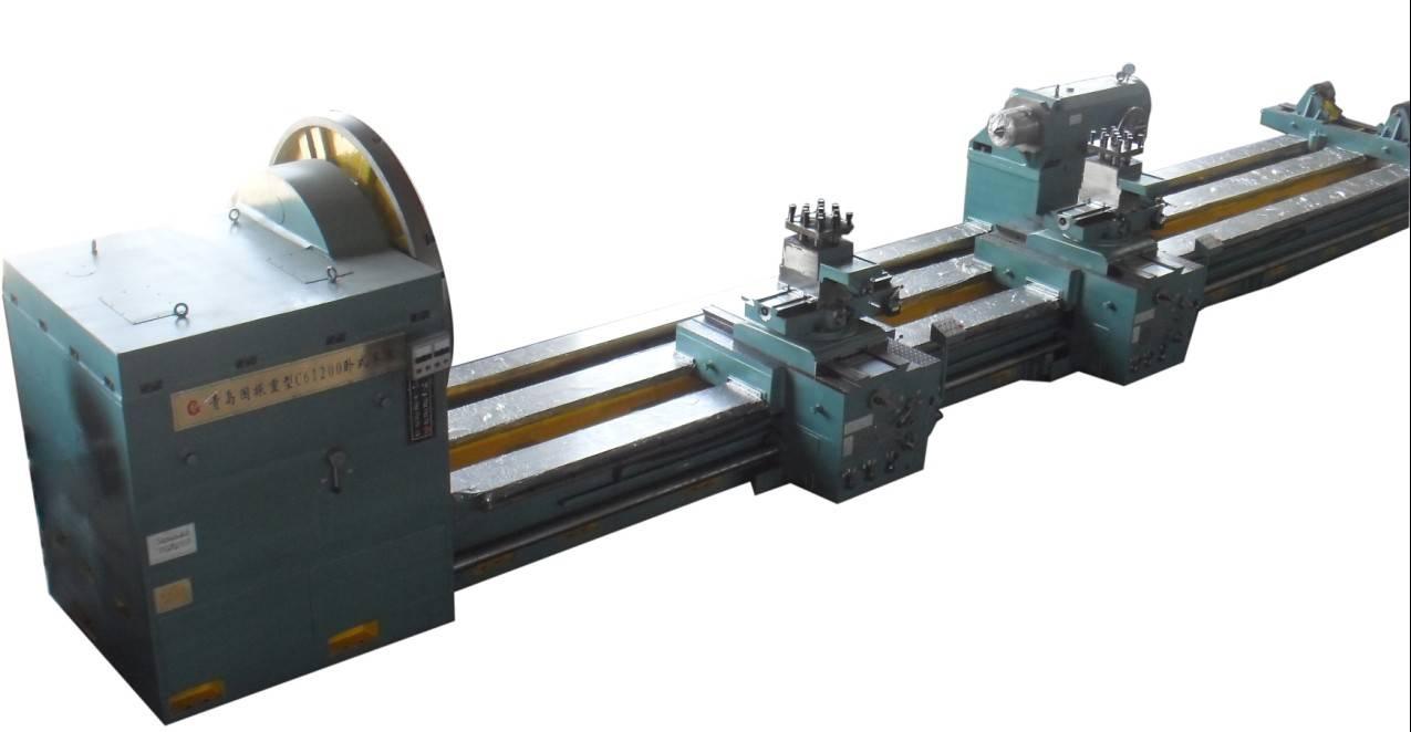 China Manufacturer Roll Roller / Shafts / Drum / Steam Turbine Turning Heavy Duty Horizontal Lathe M
