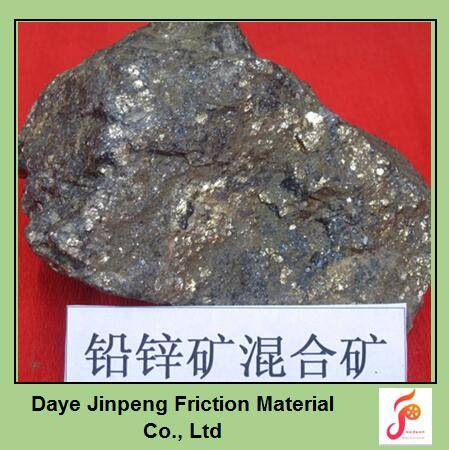 Lead zinc ore mohs hardness is 3-5.5, the density is 4.5- 5.0 g/cm3