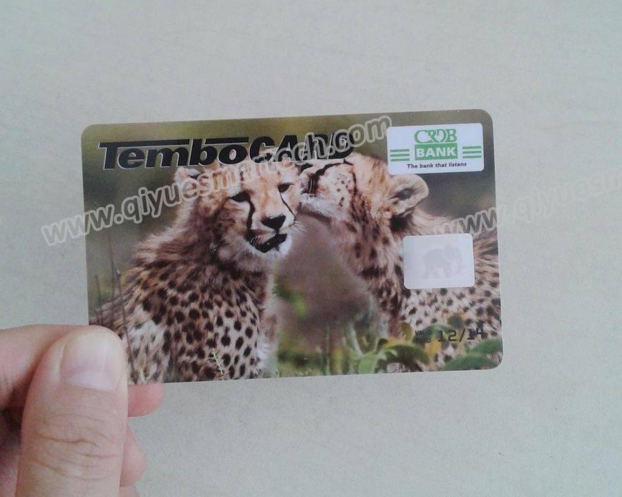 plastic hologram card 3d hologram card