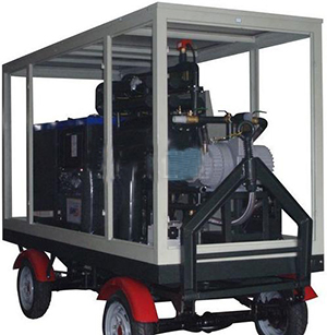 Mobile Vacuum Transformer Oil Purification System