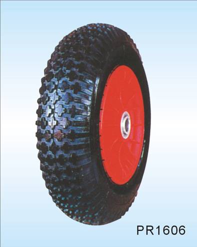 pneumatic wheelbarrow rubber wheel  16*4.00-8