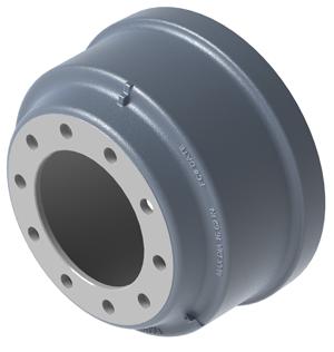 truck parts brake drum