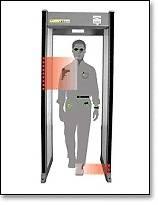 New Garrett PD6500i Securit Walk Through Metal Detector