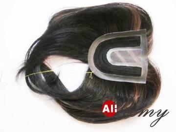 Human Hair Piece ARW-5304