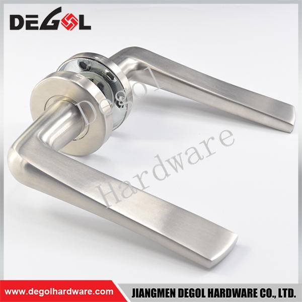 Chinese wholesale stainless steel solid type accord door handle