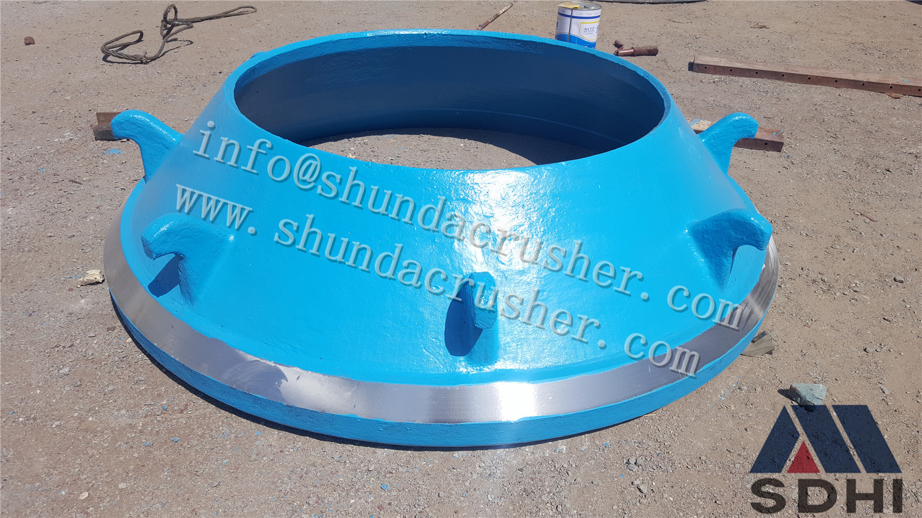 Metso HP series cone crusher concave cone crusher spare parts foundry