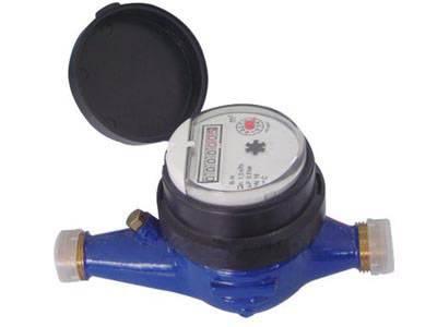 Multi Jet Dry Dial Brass Body Class B Water Meter