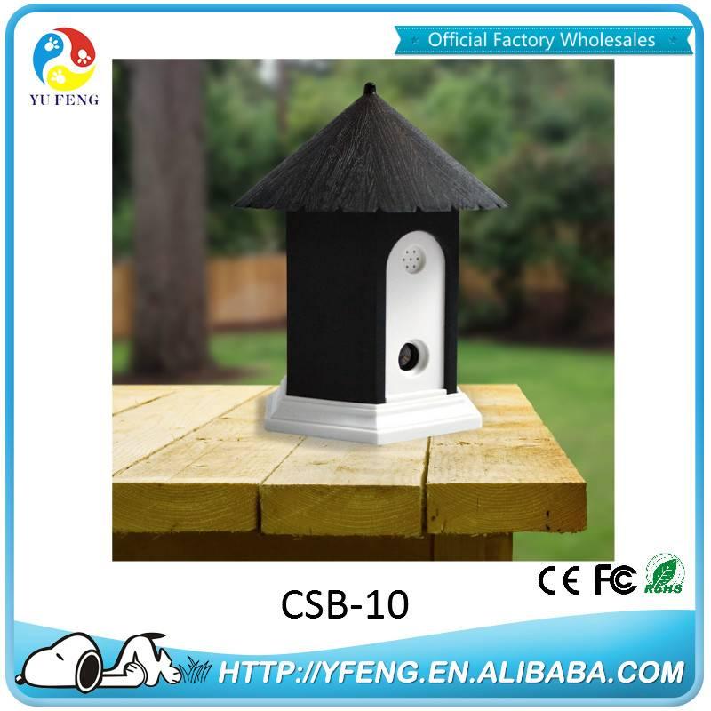 2016 Hight Quality Indoor Ultrasonic Birdhouse Pet Dog Barking Control Device CSB-10
