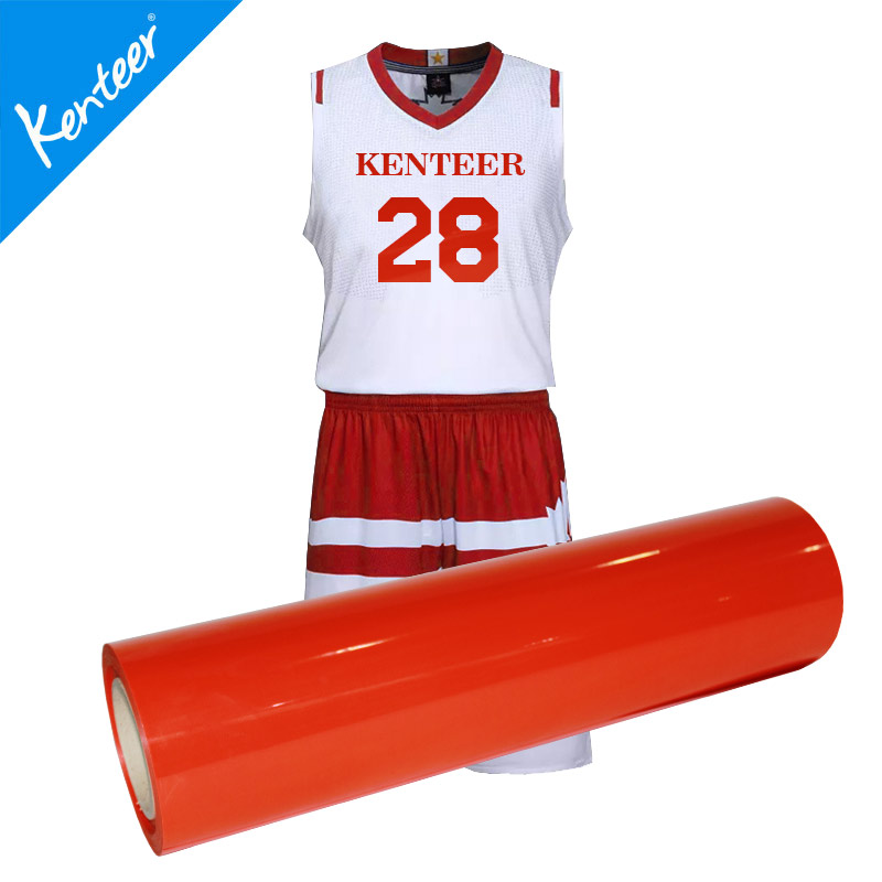 Kenteer high quality PVC heat transfer vinyl for garments
