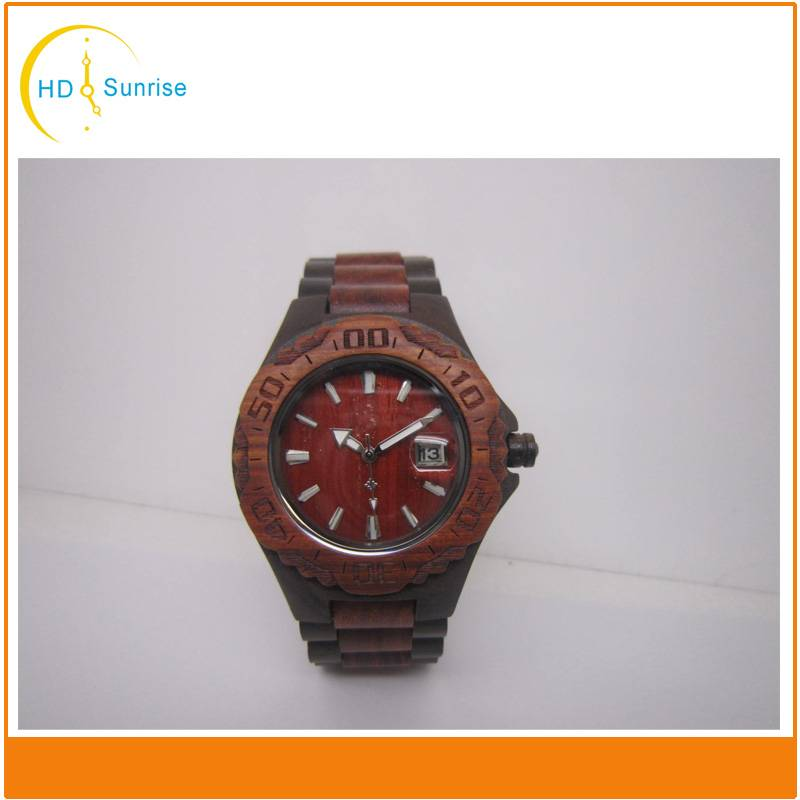 Newest Design Eco-Friendly Bamboo Watch Handmade Wooden Wrist Watches
