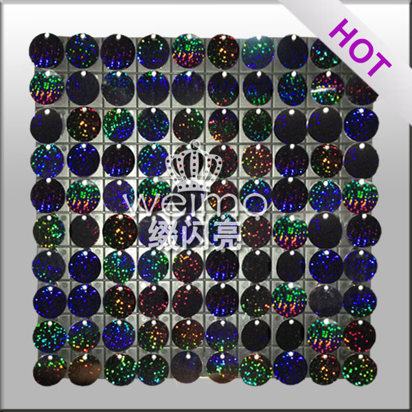 Shiny Sequin Wall Panel Decorative Décor