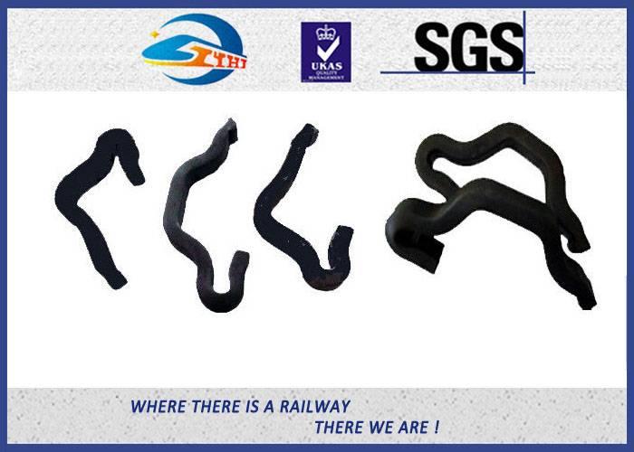ZhongYue Rail Fixation Rail anchor fasteners 60Si2Mn 65 Mn Material Anticreeper