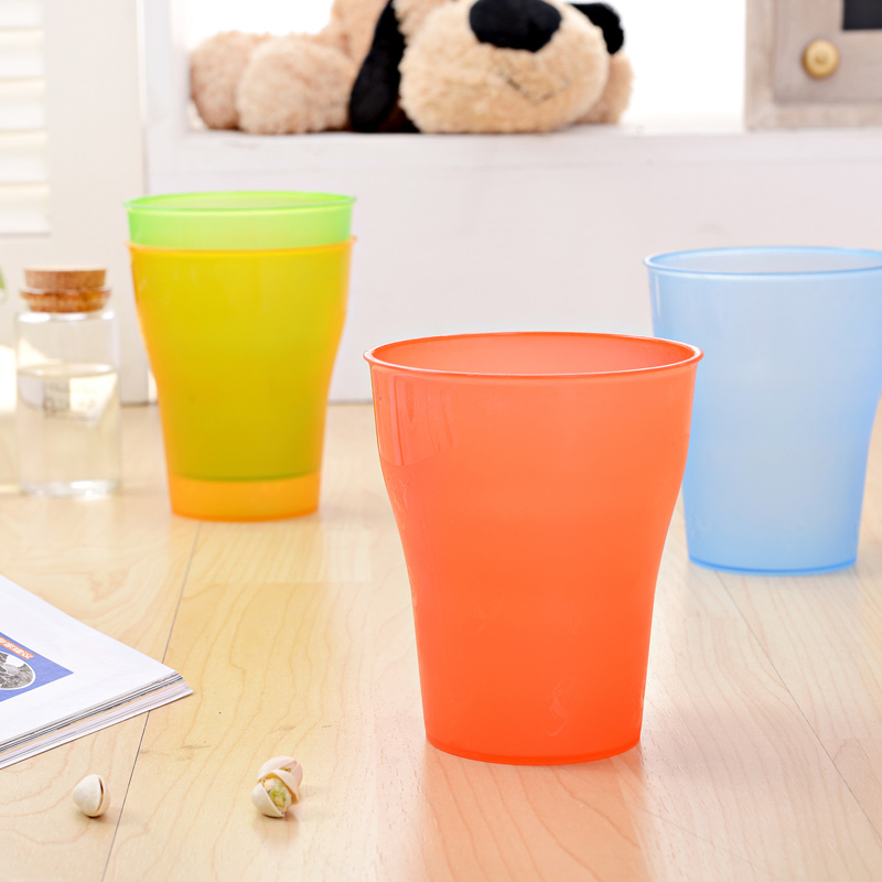 1018 wholesale food grade pp plastic water cup/tooth brash cup