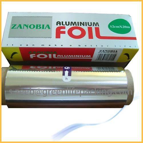 Extra heavy duty aluminum foil for household